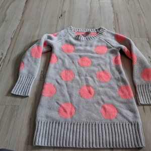 Gymboree Polka Dot Knit Sweater Pull Over Girl You